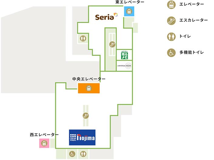 5Fの地図