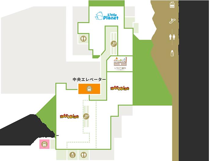6Fの地図