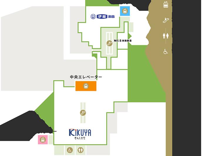 7Fの地図