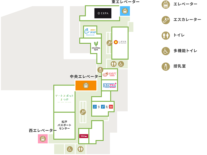 9Fの地図
