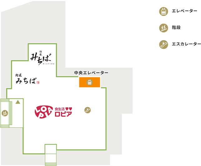 B1の地図